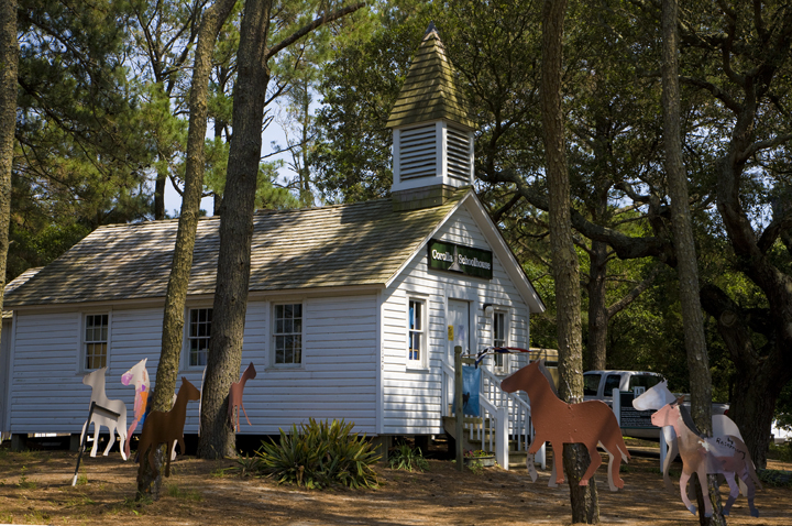 Ray Matthews Historic Corolla Village Schoolhouse