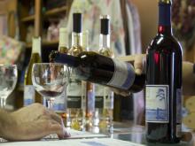 Sanctuary vineyards tasting room