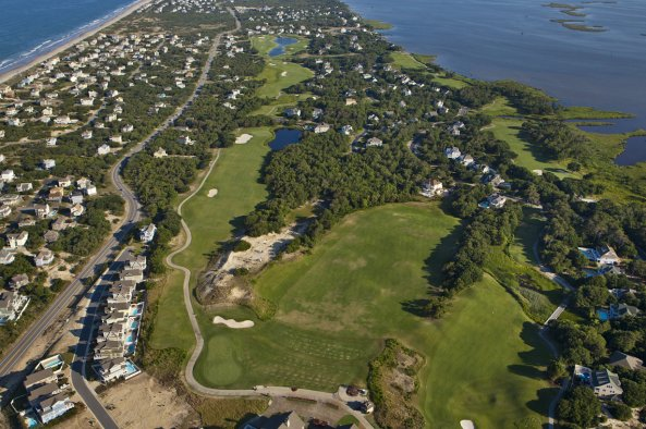 currituck club aerial view