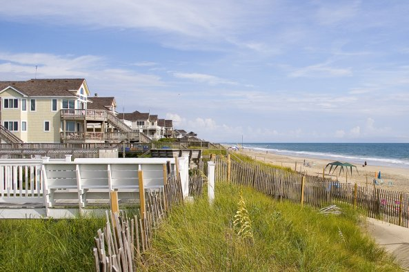 oceanfront homes, The Village at Nags Head