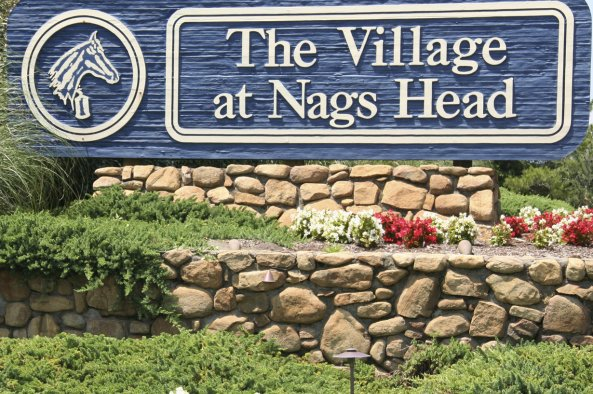 village at nags head front sign