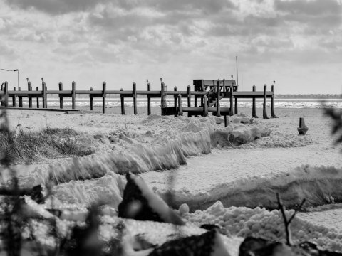 Snow on The Outer Banks, NC | Village Realty