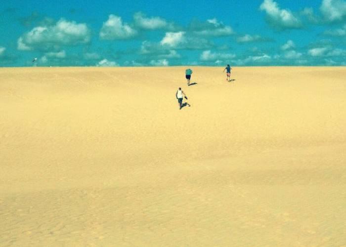 Jockey's Ridge Beach walk