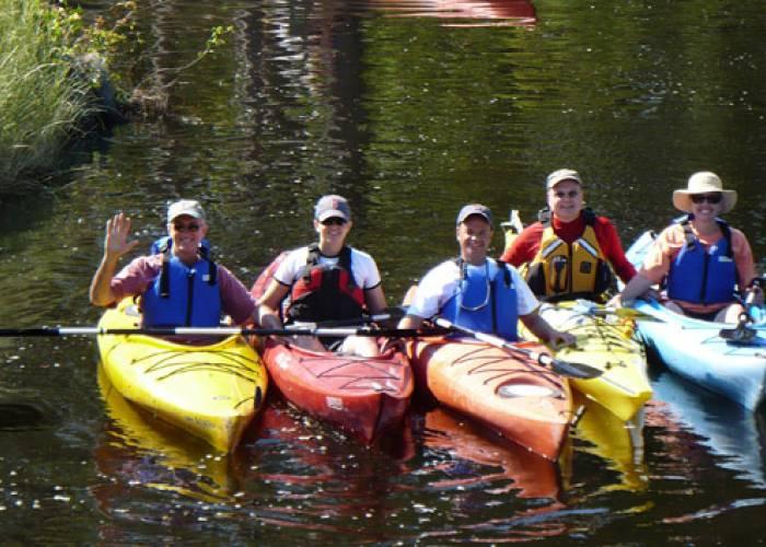 kayaking, kitty hawk water sports