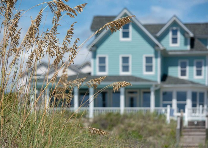 2021 Outer Banks Vacation Rentals Information Oceanfront Home Scene