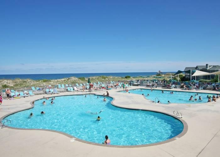 Corolla Light Resort pools - Corolla, NC