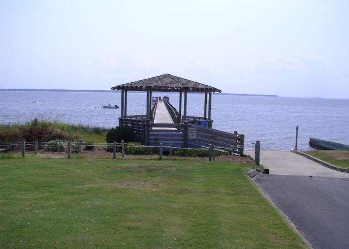 pier at The Villas at Roanoke Sound - Nags Head, NC