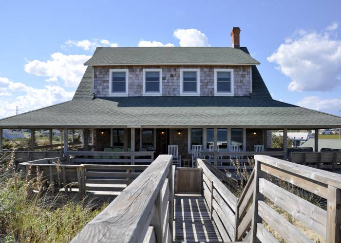 vacation rental home on Nags Head's historic loop