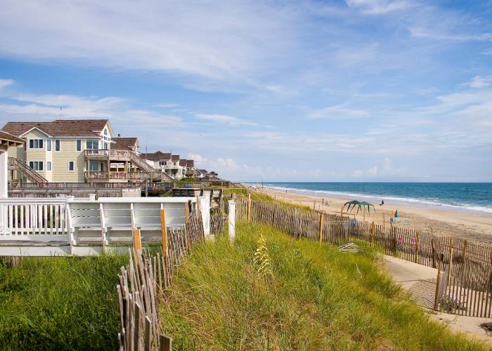 oceanfront vacation rentals on the Outer Banks