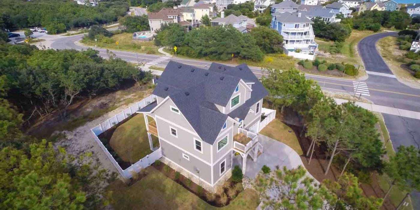 aerial view of home at Villages at Ocean Hill