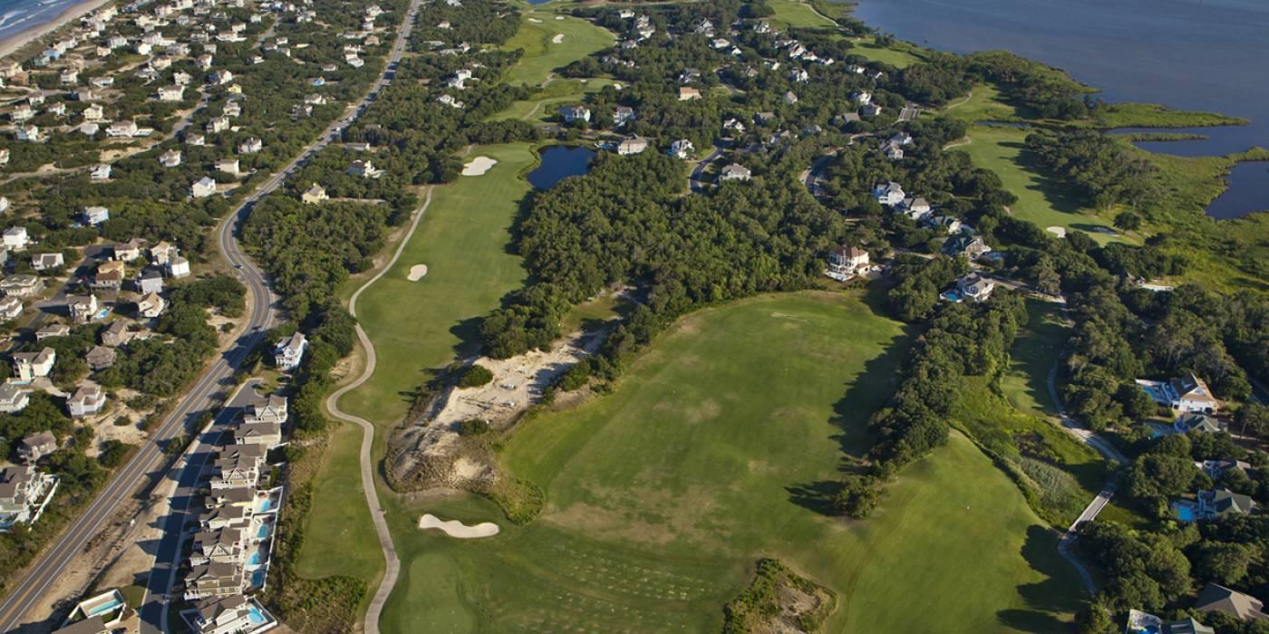 currituck club aerial view