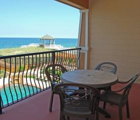 Private Oceanfront Terrace - Top Level