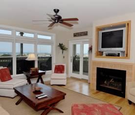 Living Area w/ Deck Access