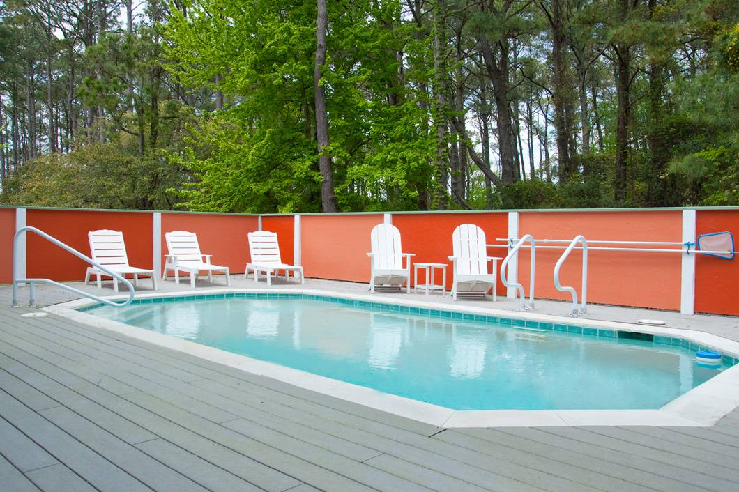 Joyful sound corolla rentals village realty for Pool durchmesser 4 50