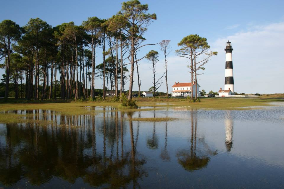 Bodie Island Lighthouse and Water