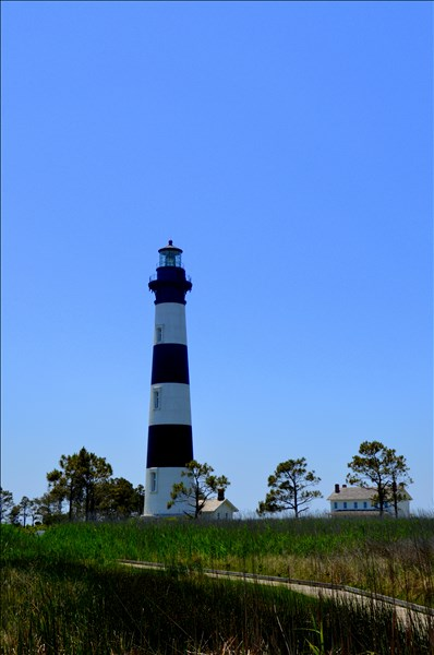 Bodie Island Lighthouse by Mariann Henderson