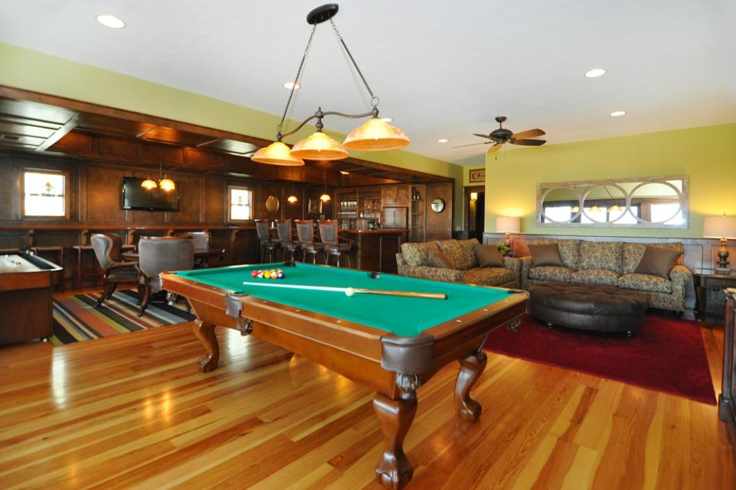 KD24 OBX Game Room Poker Table and Bar