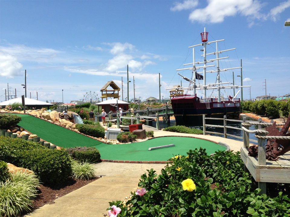 OBX Mini Golf Mutiny Bay Nags Head