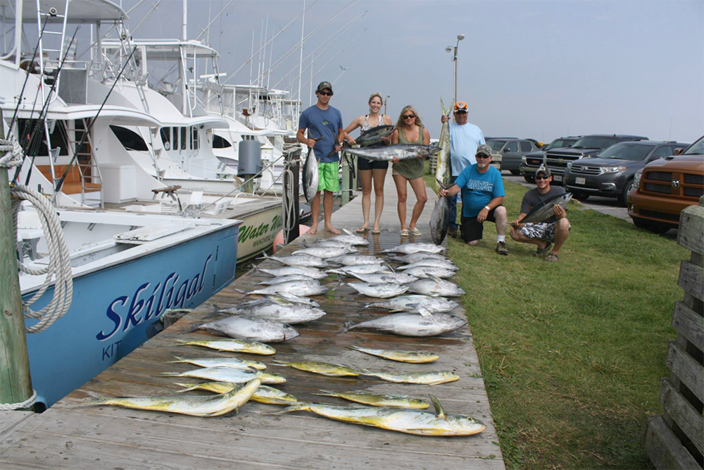 Free things to do in nags head nc village realty for Oregon free fishing