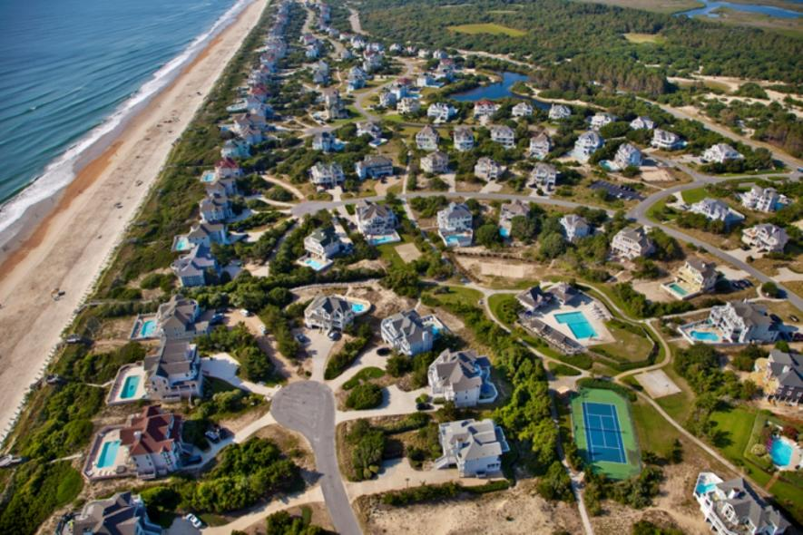 Outer Banks Aerial Photo