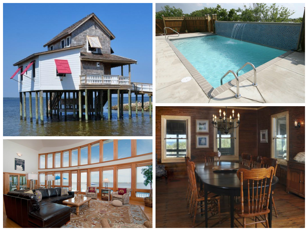 13 amazing outer banks vacation rentals you need to see for Amazing holiday rentals