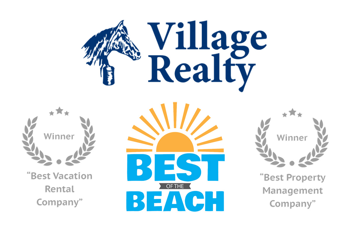 Village Realty wins Best Vacation Rentals and Property Management Company for Outer Banks