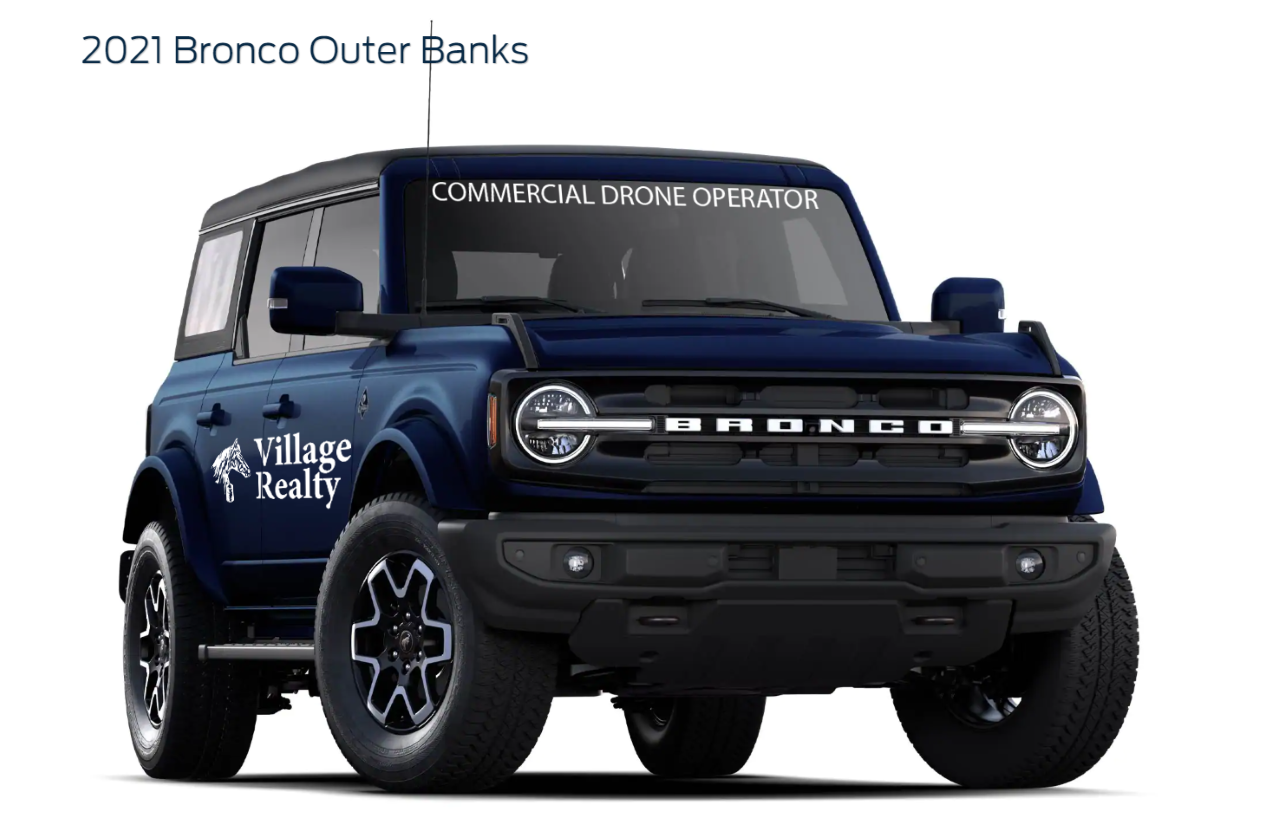 2021 Ford Bronco Outer Banks Village Realty