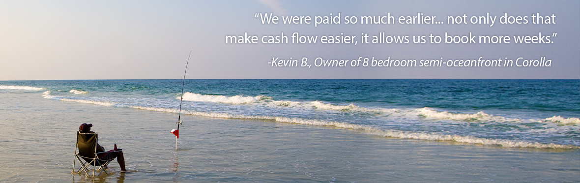 We were paid so much earlier... not only does that make cash flow easier, it allows us to book more weeks.